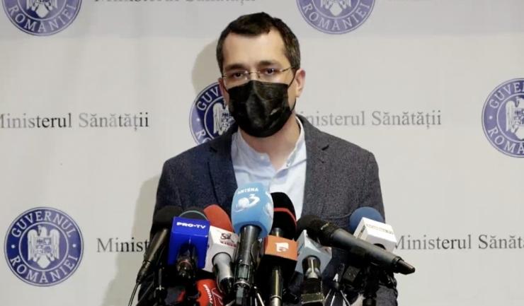 Ministrul Sănătății,Vlad Voiculescu