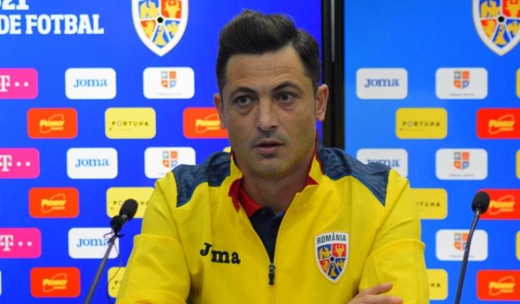 Selecţionerul Mirel Rădoi a fost inspirat, trimiţându-l în teren, în ultimul sfert de oră, pe Adrian Petre