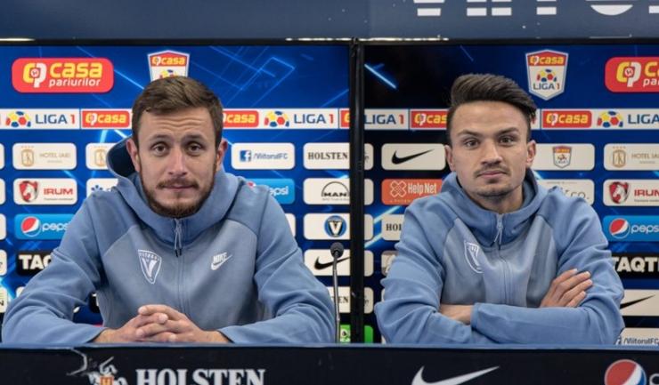 Sebastian Mladen şi Cristi Ganea se gândesc doar la victorie