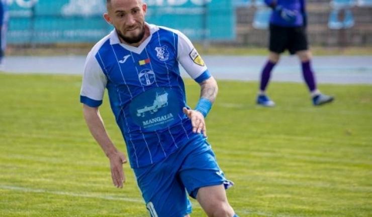 Nicolae Moise a deschis drumul spre victoria Farului la Brăila (sursa foto: Facebook FC Farul Constanța)