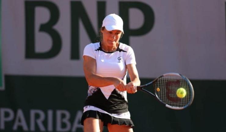 După eliminarea din turneul de simplu, Monica Niculescu s-a calificat în turul secund la dublu feminin