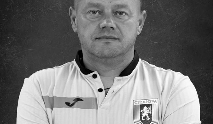 Martin Tudor (sursa foto: Facebook Universitatea Craiova)