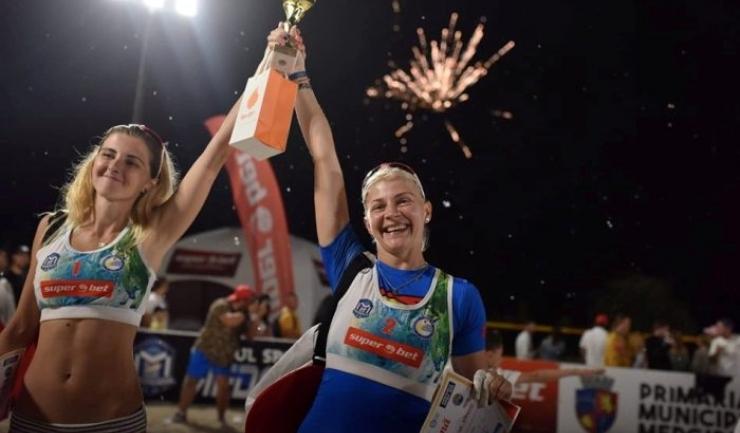 Sorina Răileanu şi Adina Stanciu au ocupat primul loc (sursa foto: Facebook Clubul Sportiv Medgidia)