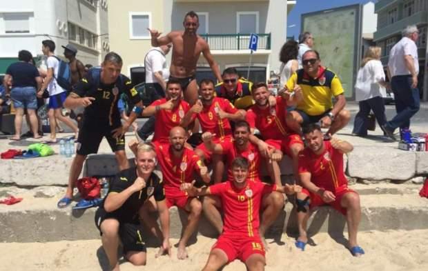 Tricolorii au învins Estonia în ultimul meci susţinut în localitatea portugheză Nazare (sursa foto: Facebook Ciprian Paraschiv)