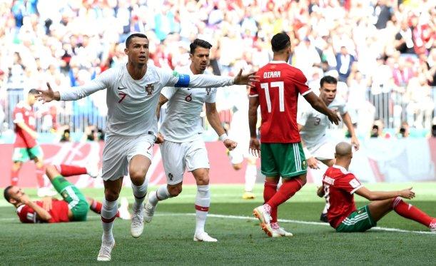 Cristiano Ronaldo a devenit cel mai bun marcator al unei naționale de seniori din Europa (sursa foto: Facebook FIFA World Cup)