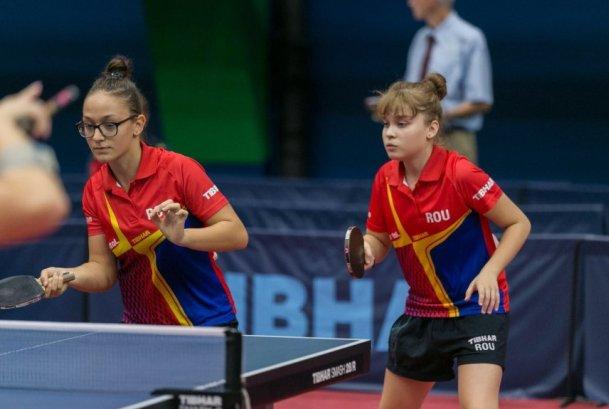 Constănţencele Camelia Mitrofan şi Elena Zaharia au devenit campioane europene în întrecerea pe echipe la junioare II