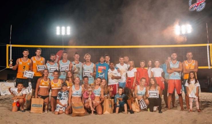 Circuitul Constanța Beach Volleyball Tour s-a încheiat (sursa foto: Facebook Academia de Volei Tomis Constanta)