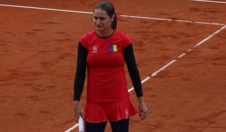 Monica Niculescu a fost eliminată în primul tur la dublu la New Haven
