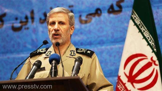 Ministrul apărării Amir Hatami. Sursa foto: www.presstv.com