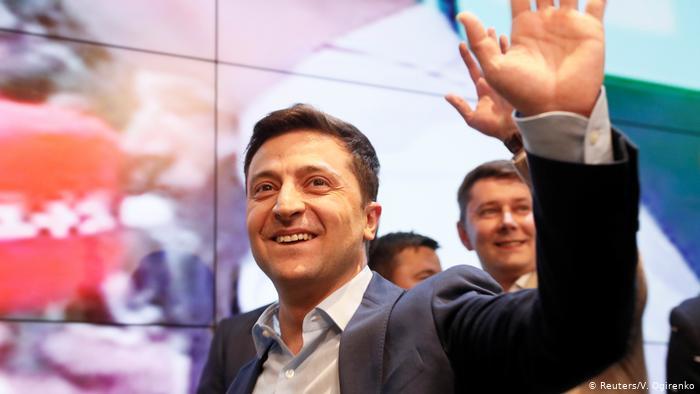Preşedintele ucrainean Volodimir Zelenski
