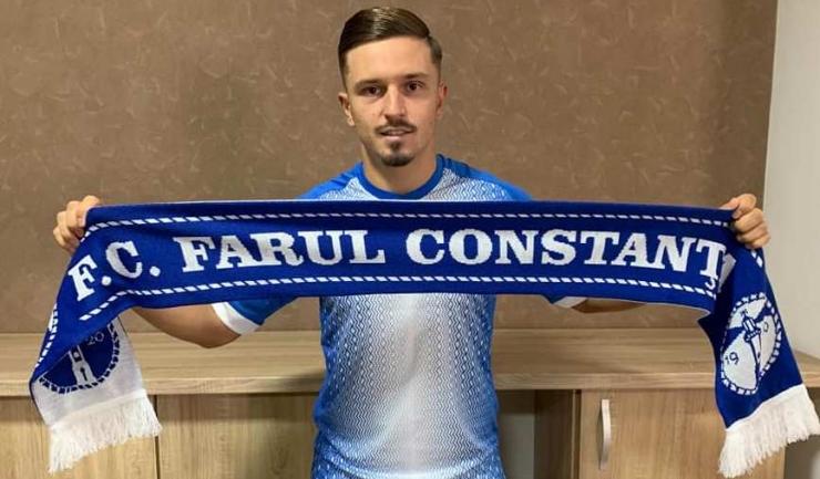 Dan Panait (sursa foto: Facebook FC Farul Constanța)