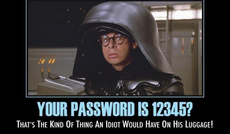 Combinațiile 123456 și password au rămas, pentru al cincilea an consecutiv, cele mai utilizate parole din mediul online