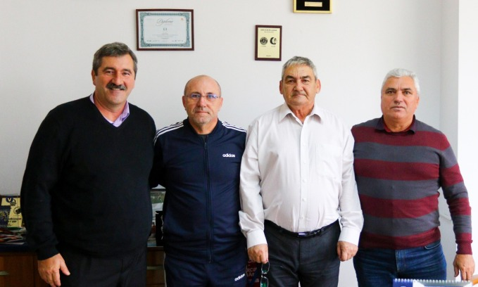 Florian Adam, Constantin Funda, Pavel Peniu și Constantin Dinicu (sursa foto: www.academiahagi.ro)