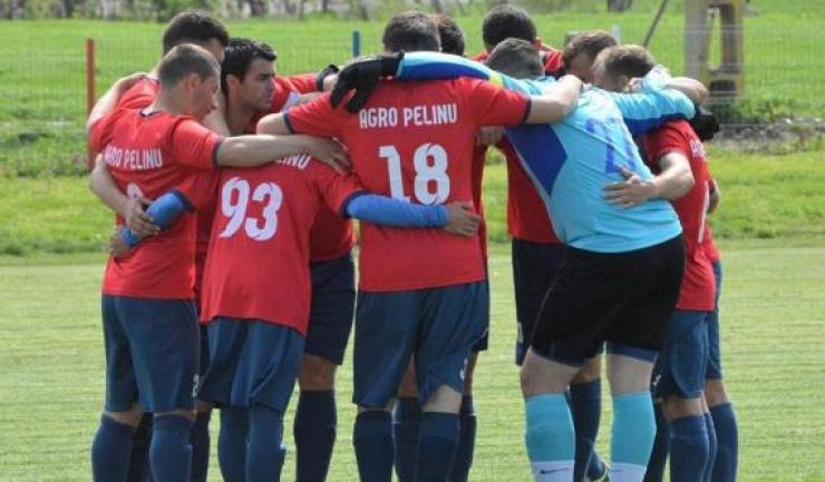 AS Pelinu a câștigat întâlnirea cu Olimpia Constanța (sursa foto: Facebook A.S Pelinu)