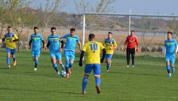 CS Peştera a trecut categoric de Sportul Tortoman (sursa foto: Facebook Dornik de Sport)