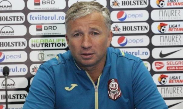 Antrenorul Dan Petrescu vrea să califice, din nou, formaţia clujeană în grupele UEFA Europa League