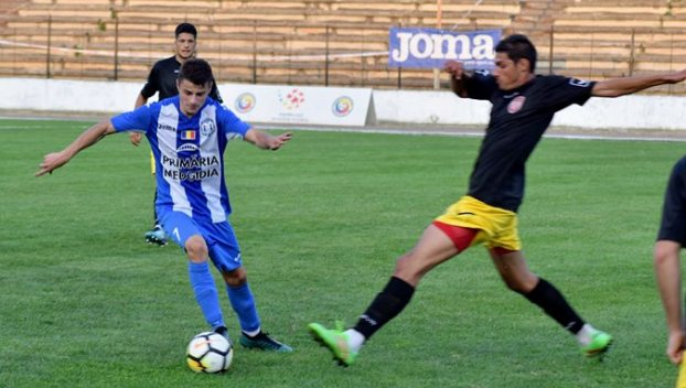 Petre Bolojan a deschis drumul spre victorie pentru CS Medgidia (sursa foto: Facebook Clubul Sportiv Medgidia)