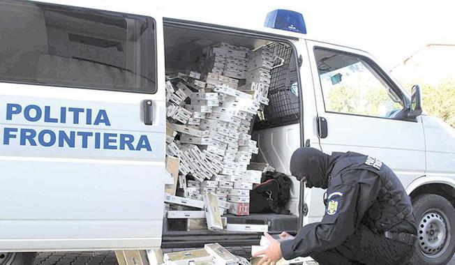 Regiunea Nord-Est din România este cea mai afectată de traficul cu țigarete și tutun de contrabandă