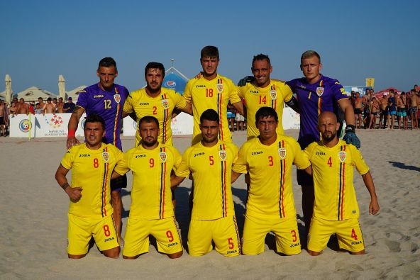 România are șansa de a evolua din nou în elita fotbalului pe plajă (sursa foto: www.frf.ro)