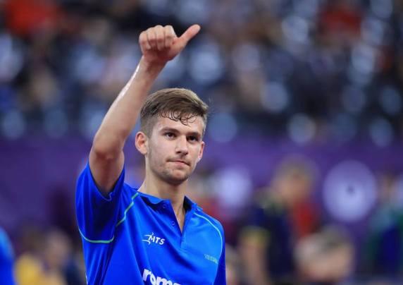 Constănţeanul Cristian Pletea şi-a demonstrat din nou valoarea (sursa foto: Facebook European Table Tennis Union)