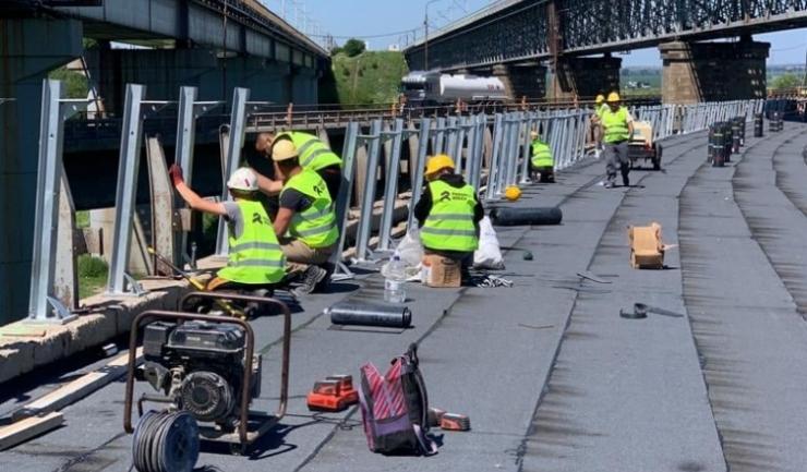 Lucrări la Podul Cernavodă. Foto: DRDP Constanța