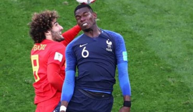 Paul Pogba le-a dedicat victoria din semifinalele CM copiilor salvaţi marţi (sursa foto: Facebook FIFA World Cup)