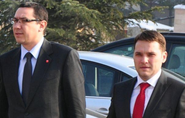 Victor Ponta și Dan Șova