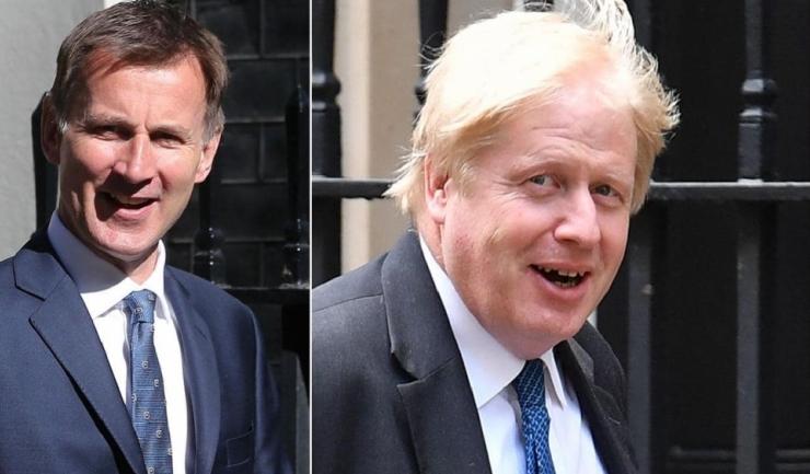 Boris Johnson sau Jeremy Hunt