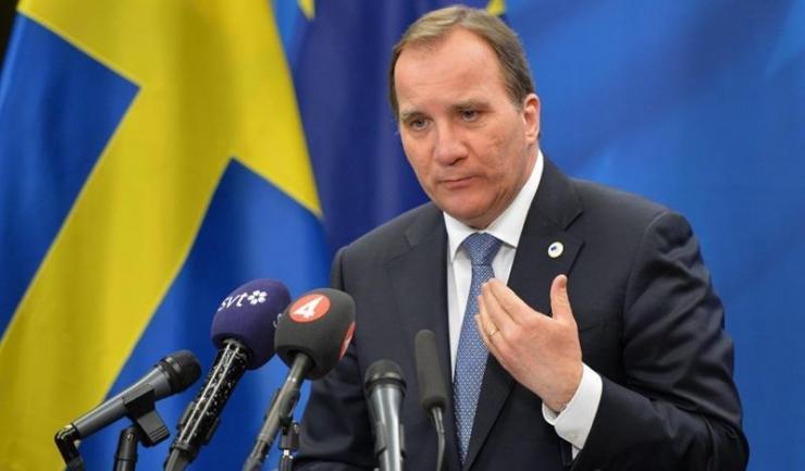Premierul suedez Stefan Lofven