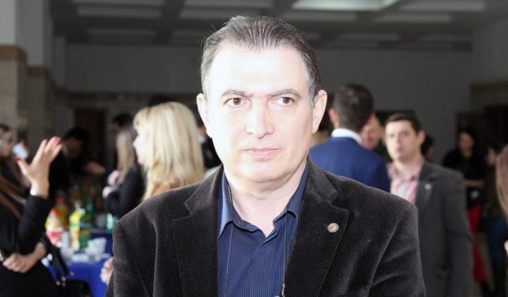 """Președintele federației sindicatelor din educație """"Spiru Haret"""", Marius Nistor"""