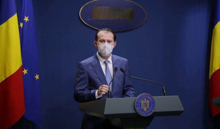 Prim-ministrul Florin Cîțu