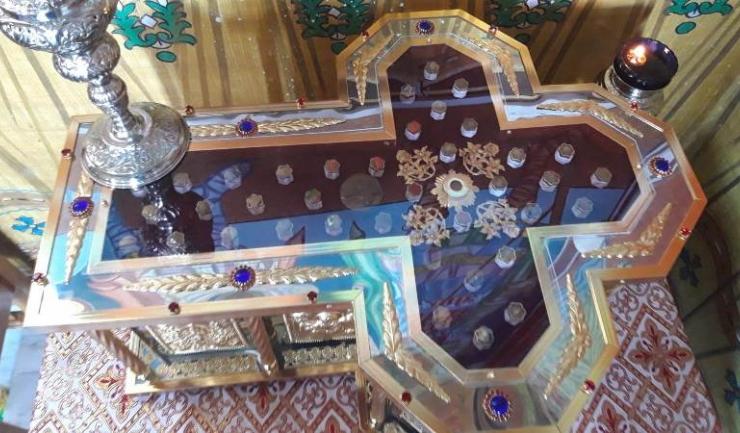 Raclă din Mănăstirea Colilia