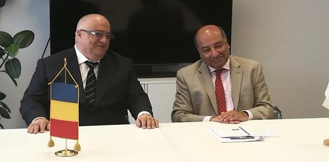 Președintele BERD - Suma Chakrabarti și Directorul General al RAJA - Felix Stroe