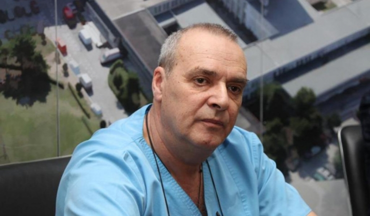 Șeful Clinicii ORL a SCJU Constanța, șef lucrări dr. Dănuţ Dincă