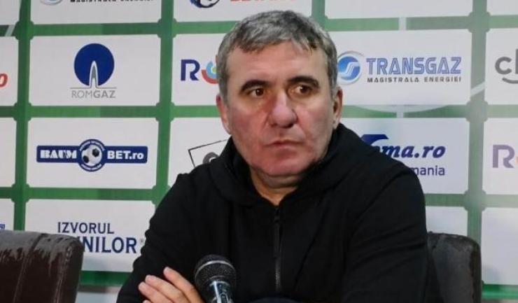 """Gheorghe Hagi, manager tehnic FC Viitorul: """"Cea mai mare greșeală a noastră ca și echipă, ca și club, e să credem în momentul de față că suntem mari"""""""