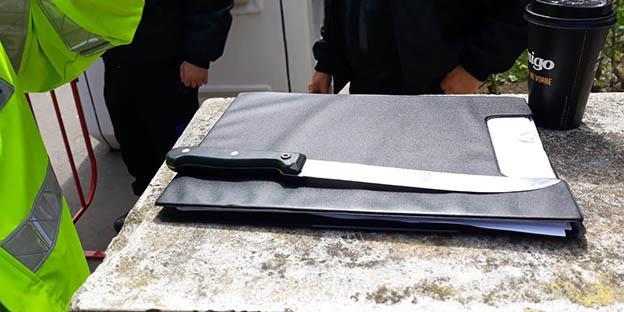 ZIP ESCORT reține un bărbat înarmat în Urgența Spitalului Județean