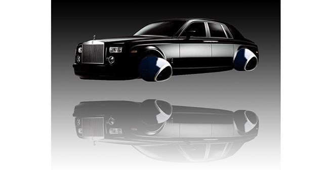 Până în 2030, Rolls-Royce vrea să producă un taxi zburător, cu o autonomie de 800 km