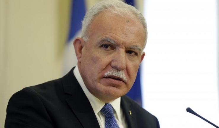 Palestinienii, prin vocea lui Riyad Al-Malki, vor să ceară boicotarea politică şi economică a României