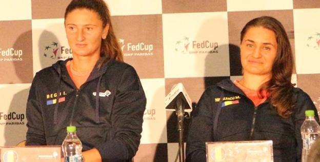 Irina Begu şi Monica Niculescu au adus României punctul victoriei în duelul cu deţinătoarea trofeului