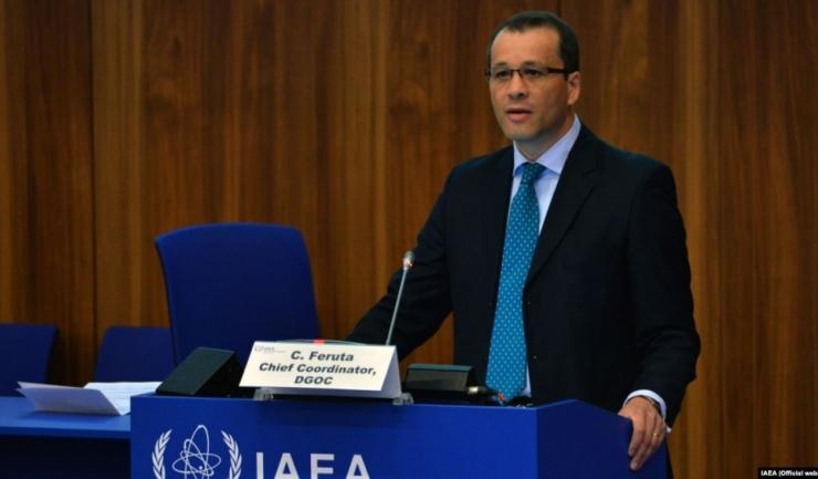 Directorul general interimar al Agenţiei Internaţionale pentru Energie Atomică (AIEA), Cornel Feruţă