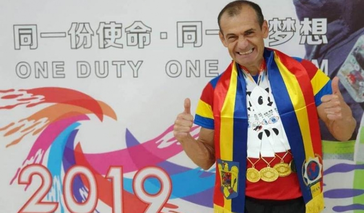 Triplul campion mondial Gheorghe Raul Romaşcanu