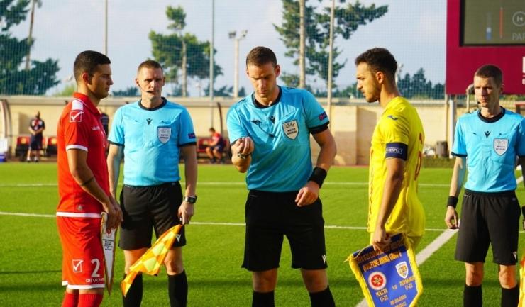 Virgil Ghiță este căpitanul naţionalei Under 21 (sursa foto: www.fcviitorul.ro)