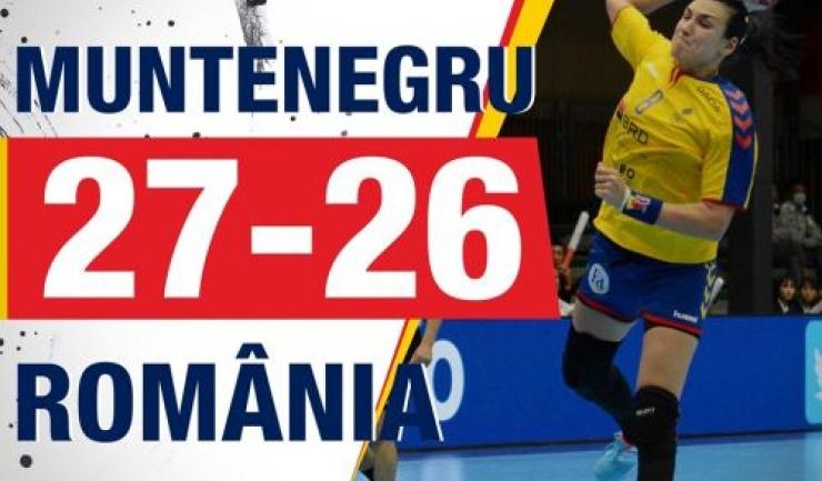Cristina Neagu a fost MVP-ul partidei (sursa foto: Facebook FRH - Federația Română de Handbal)