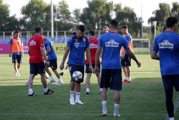 Tricolorii au început pregătirea dublei cu Muntenegru şi Serbia (sursa foto: www.frf.ro)