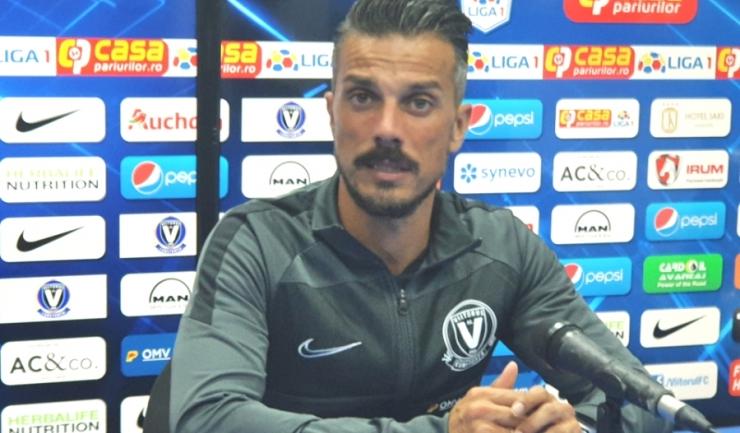 """Ruben de la Barrera, antrenor principal FC Viitorul: """"Sunt încrezător în posibilităţile noastre"""""""