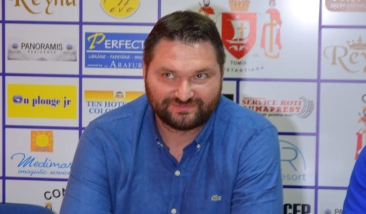 """Ionuţ Rudi Stănescu: """"Un spectacol sportiv în noua sală polivalentă va fi cu totul altceva"""""""
