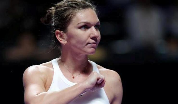 Simona Halep nu s-a putut impune în partida cu Elina Svitolina (sursa foto: Facebook Simona Halep)