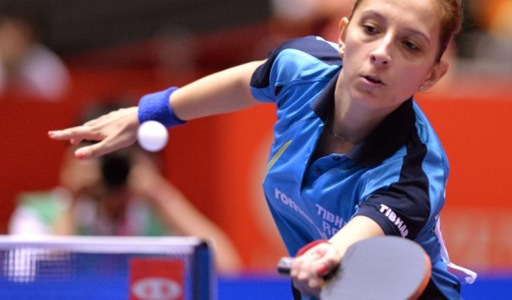 """Eliza Samara, campioana europeană en titre, merge la Rio cu gândul de a """"sparge zidul asiatic"""" din tenisul de masă feminin"""