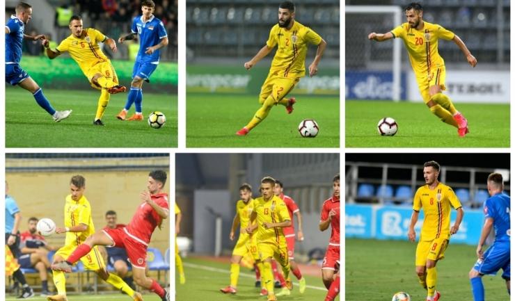 Virgil Ghiță, Radu Boboc, Andrei Ciobanu, George Ganea, Alexandru Mățan și Carlo Casap (sursa foto: www.fcviitorul.ro)