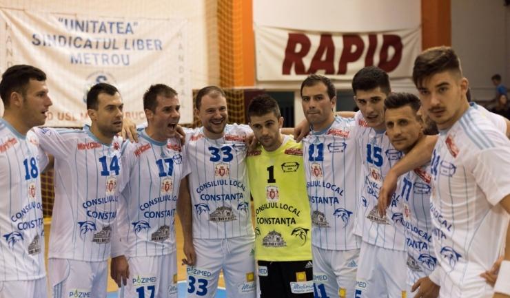 HC Dobrogea Sud s-a revanșat în Sala Rapid după înfrângerea cu Suceava de la Constanța